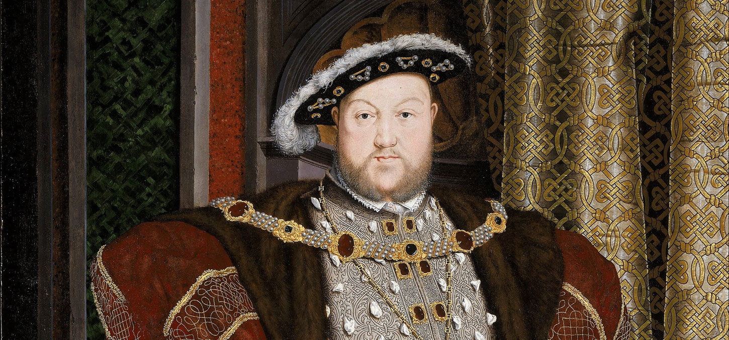 Hans Holbein the Younger - Portrait of Henry VIII Banner