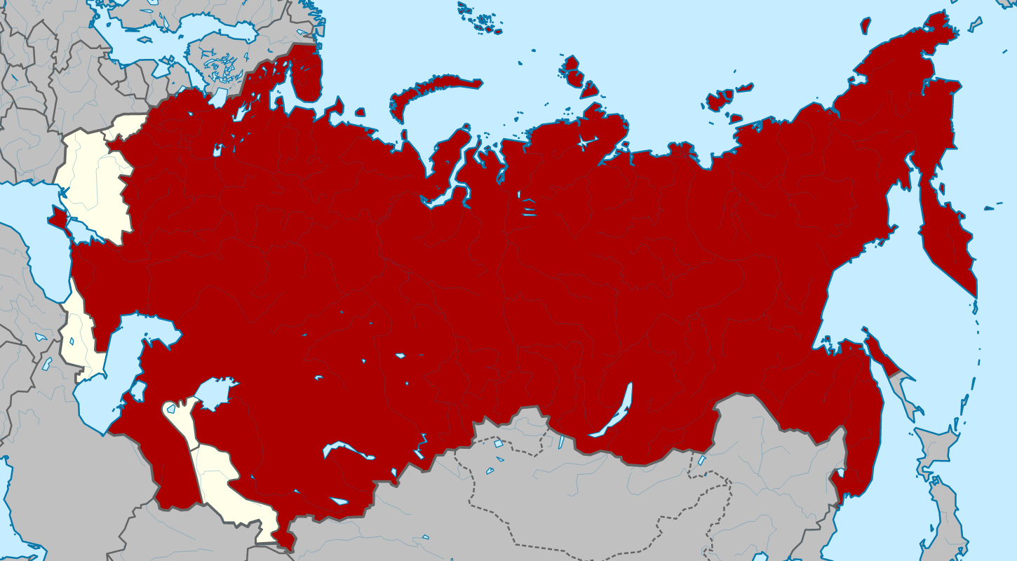 The Russian SFSR as a part of the USSR in 1922.
